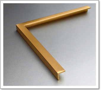 Brass Frame Angle Section