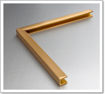 Brass Frame Channel Section