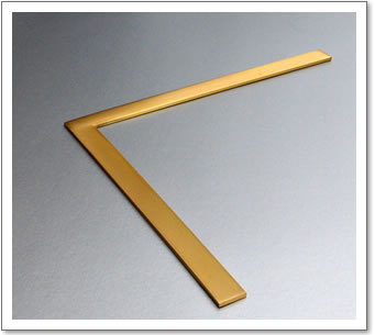 Brass Frame Flat Section