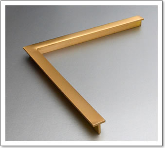 Brass Frame T Section