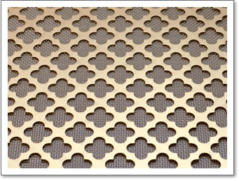 Regency Brass Grille Plain Rosette