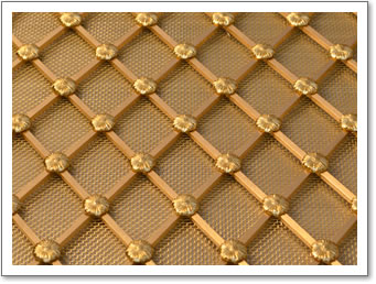 Regency Brass Grille Pin