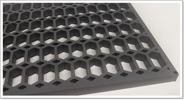 Water Cut Floor Grilles