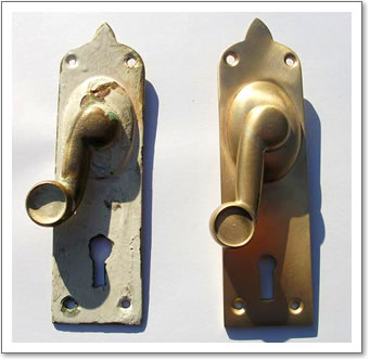 Brass Reproduction Door Handle