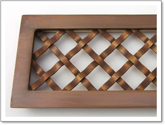 Antique Woven Grille in Frame