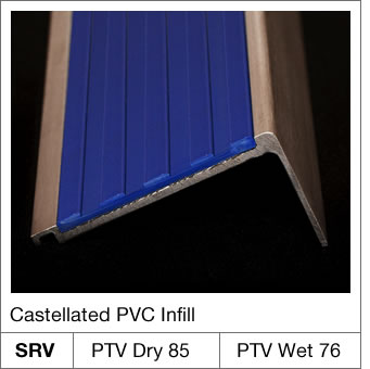 Castellated PVC Infill