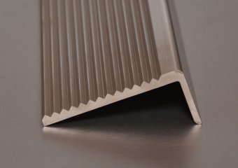 Stair Nosing shown in Satin Nickel finish
